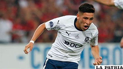 Ezequiel Barco de 18 años, fue la figura de Independiente, anotó el gol de penal /bolavip.com