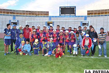 Zanca FC campeón de la categoría Sub-15