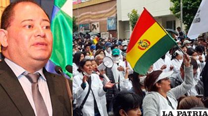 Gobierno y médicos bolivianos se reúnen para poner fin a huelga