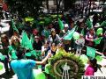 Los demócratas de Oruro en el festejo de su 4º aniversario