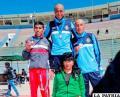 Vidal Basco primero, Mario Flores segundo, en el nacional Sub-23 en Oruro
