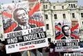 Miles de peruanos se movilizaron en rechazo al indulto de Fujimori