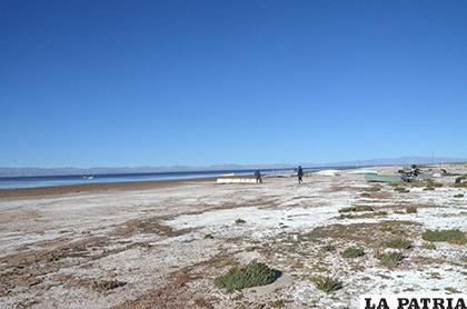 Proceso de salinización del lago se acelera / LA PATRIA