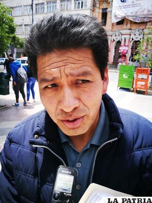 El querellante del caso Mochilas, Severo Torrez / LA PATRIA