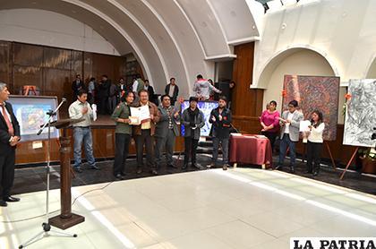 Premiación de la anterior versión del concurso/ LA PATRIA archivo