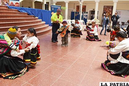 El festival se desarrolló en el hall de la Gobernación/ LA PATRIA