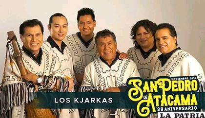 La portada de su presentación en San Pedro de Atacama / Kjarkas