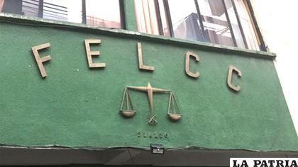 La Felcc de El Alto atendió el caso / Erbol