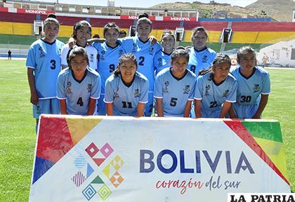 La selección femenina de Oruro fue superior a La Paz en su debut /Fernando Rodríguez - LA PATRIA