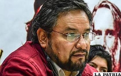 El ministro de la Presidencia, Alfredo Rada /YouTube