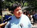 El representante de SOL.bo en Oruro, Marcelo Medina /LA PATRIA