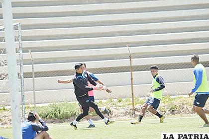 Los jugadores están motivados para conseguir un buen resultado en Santa Cruz /Reynaldo Bellota /LA PATRIA