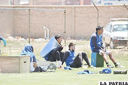 Rivas, a la espera de volver a la titularidad en el equipo orureño /Reynaldo Bellota /LA PATRIA