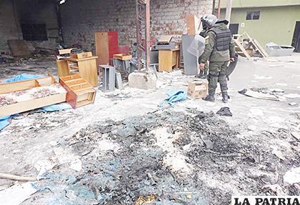 Dependencias de la Policía Boliviana en la ciudad de El Alto /APG