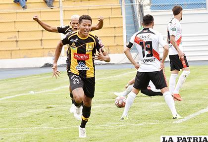 Moisés Calero, anotó el segundo para los