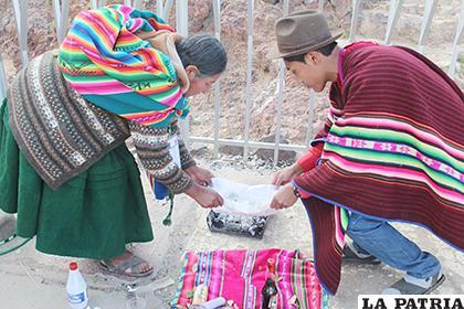 Rituales andinos fueron rescatados en ruta turística /LA PATRIA