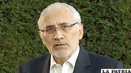 El expresidente Carlos Mesa /ERBOL