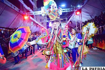 Carnaval de Oruro es Obra Maestra del Patrimonio Oral e Intangible de la Humanidad /LA PATRIA /ARCHIVO