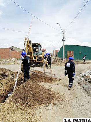 Nuevamente se presentan problemas en el proyecto de alcantarillado fase 4  /LA PATRIA /ARCHIVO