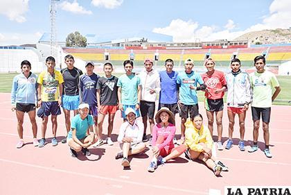 Atletas orureños competirán en la última carrera pedestre del año /Reynaldo Bellota /LA PATRIA