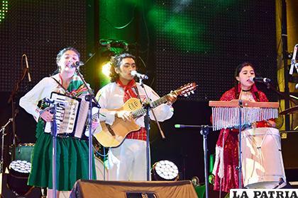Artistas de todo el país llegan con su talento a Oruro /LA PATRIA /ARCHIVO