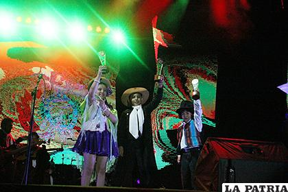 Ganadores de la categoría Solista Vocal Infantil /Carla Herrera /LA PATRIA