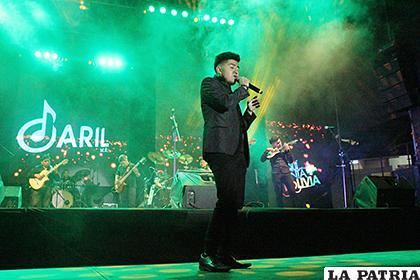 Daril Muñoz encandiló el Festival ¡Aquí...canta Bolivia!  /Carla Herrera /LA PATRIA