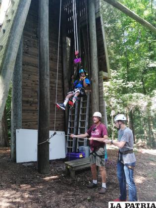 Camp Fairlee Special needs 2019, Climbing Tower