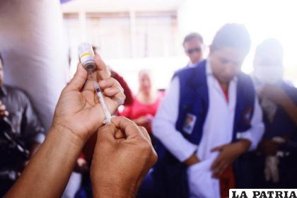 Según el gobierno boliviano la vacuna será administrada en el primer trimestre de 2021 /Ministerio de Salud