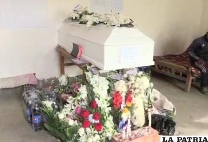 La menor fue enterrada en el Cementerio de Iroco /LA PATRIA