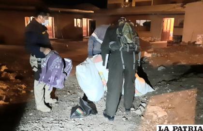 Tres mujeres y un varón fueron sorprendidos en flagrancia /LA PATRIA