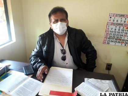 El abogado Sandro García llevó adelante la investigación desde el inicio del caso /LA PATRIA