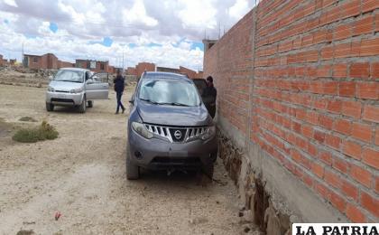 """El vehículo fue encontrado en la urbanización """"3 de Mayo"""" /LA PATRIA"""