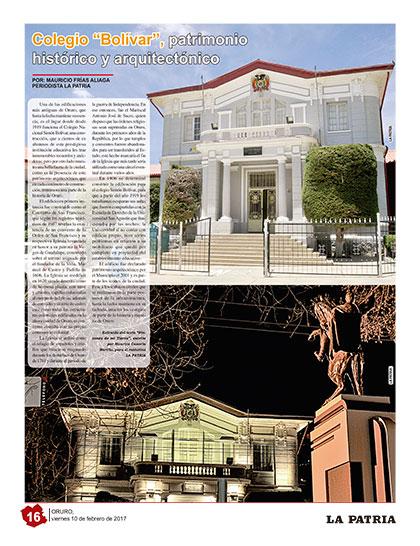Colegio bol var patrimonio hist rico y arquitect nico for Colegio bolivar y freud