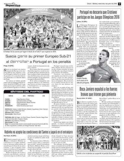 Portugal no descarta que Cristiano participe en los Juegos Olímpicos ... bae11e22e5c3b