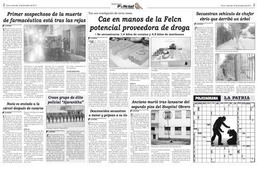 Cae en manos de la felcn potencial proveedora de droga for La proveedora de fontaneria